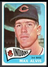 1965 Topps #185 MAX ALVIS Cleveland Indians NM-
