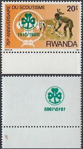 Rwanda 1985 - Mint never hinged stamp (MNH). Cob Nr.: 1253.... (EB) MV-3469