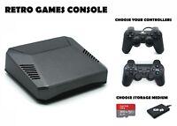 Retro Games Console - 200 or 320 GB PREMIUM Raspberry Pi 4 B Arcade Machine