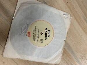 Iron Maiden in vinyl records 45rpm 7 singles