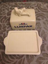 Vintage Lurpak Ceramic Butter Dish Collectable VGC