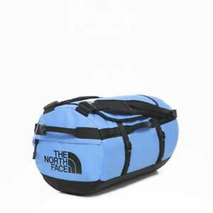 NORTH FACE Base Camp Duffel Clear Lake Blue/ TNF Black (Small) A3ETOME9-OS
