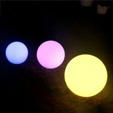 LED Colorful Ball Lamp Waterproof Outdoor Garden Lawn Light Home Decor 6/8/1