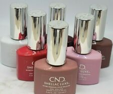 CND Shellac Luxe 60 Second Removal GEL POLISH - Choose From 75 Colors