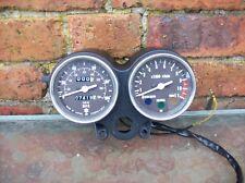 suzuki gp125  gp100 speedo clocks console speedometer instrument gauge barn find