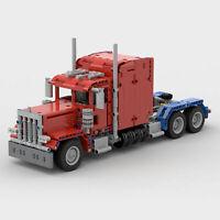 Camion 379 Peterbilt Truck USA MOC 24330 Technic LEGO COMPATIBILE news 2019