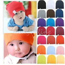 Unisex Cotton Beanie Hat for Cute Baby Boy/Girl Soft Toddler Newborn   Q