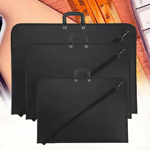 A1/A2/A3 ARTIST PORTFOLIO DRAWING PAINTING STORAGE FOLDER DOCUMENT CARRY CASE