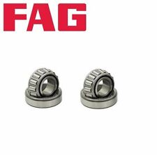 2 Rear Outer Wheel Bearing FAG 311405645 For: Audi 4000 Coupe VW Jetta Passat