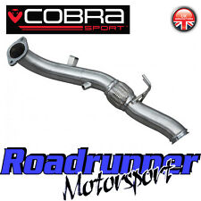 """Cobra Focus RS MK3 3"""" Decat Downpipe Exhaust Frontpipe Deletes Cat - Fits To OE"""