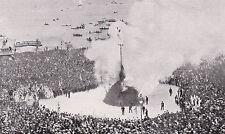 Zürich Sechseläuten um 1910 - Verbrennung des Winters - Bögg - selten