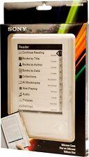 Sony Reader Piel de silicona cubierta PRS-505 prs505 505 Funda Protectora Chaqueta