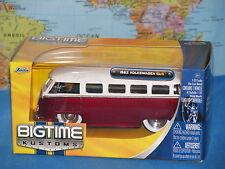 1/32 JADA BIGTIME KUSTOMS VW 1962 VOLKSWAGEN BUS DIECAST METAL ***BRAND NEW***