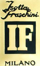 ISOTTA FRASCHINI (Italy) Automobile Emblem 0.76 oz .925 Silver Bar Franklin Mint