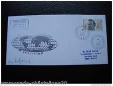 TAAF carta 1/12/2001 - sello Yvert y Tellier nº280 (O) (cy2)
