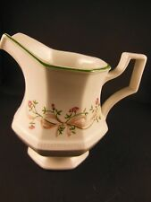 English Creamer Eternal beau Bow Ribbon Johnson Brothers Made in England