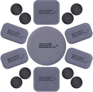 12 Pcs Tactical Helmet Replacement Pads Foam Padded Liner Universal Kit Set
