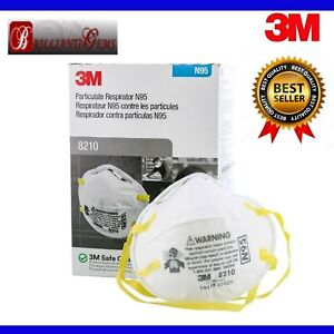 (5 Pack) Authentic/Certified 8210®95 For SAFE Daily Use, M/L, Made In U.S.A