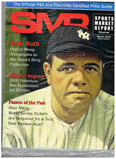 SPORTS MARKET REPORT, PSA PRICE GUIDE, March, 2018 - Babe Ruth