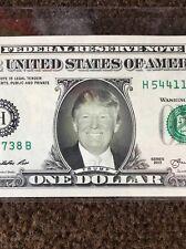 Donald Trump REAL Dollar Bill: Cash Money Memorabilia