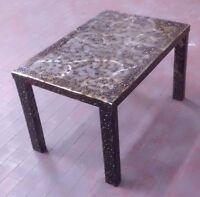 Tavolo Pranzo Tavolino Salotto FERRO . Realizzazioni Personalizzate . 616