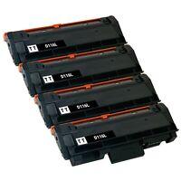 4 x Toner Cartridge for Samsung MLT-D116L SU832A M2825DW M2875FW M2885FW M2875DW