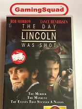 The Day Lincoln was Shot BIG BOX VHS Video Retro, Supplied by Gaming Squad