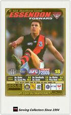 2005 AFL Teamcoach Gold Trading Card G104 Matthew Lloyd (Essendon)