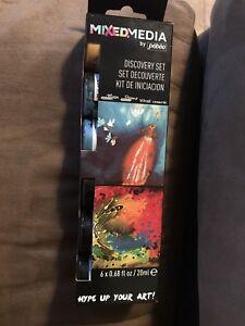 Pebeo Mixed Media Discovery Set  6x20 ml e