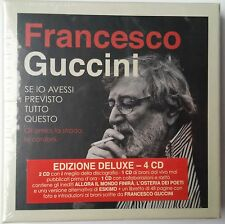 Francesco Guccini - Se io avessi previsto tutto questo. 4 CD (new album/sealed)