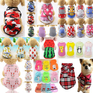 Cute Pet Dog Clothes Summer Puppy T Shirt Clothing Small Dog Chihuahua Vest #N