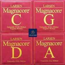 Cello Strings Set 4/4 Larsen Magnacore Tungsten G, C, A,D Medium