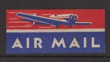 Old AIRMAIL label