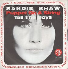 7inch SANDIE SHAW	puppet on a string	HOLLAND EX/WOC BACK	  (S2349)
