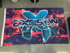 New listing Excision Flag Edm Tour 3x5 Poster Vinyl Shirt Rare New