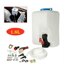 Car UTV Windshield Washer Pump Reservoir Kit 12V Washer Flui 1 x Wiring Loom