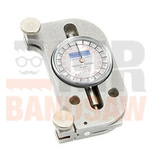 BANDSAW BLADE TENSION GAUGE FOR CARBON FLEXBACK OR M42 BIMETAL BANDSAW BLADES