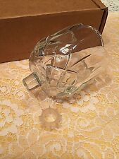 1 New Elegant Heavy Clear Homco Home Interiors,Diamond Votive Cup Candle Holders