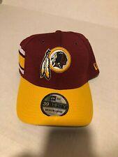 70154883daf5e1 2018 Washington Redskins New Era 39THIRTY NFL Sideline On Field Cap Hat M/L*