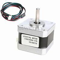 Nema 17 Stepper Motor 300mN.m For CNC Reprap Prusa Mendel Makerbot 3D Printer