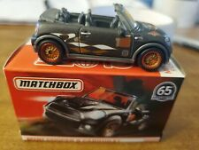 2018 Matchbox Globe Travlers Black Mini Cooper Rr