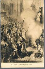 FRANCE POSTCARD Jeanne d'Arc sur le bucher C1914