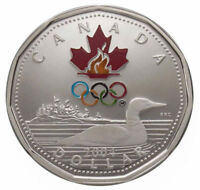 2004 $1 Lucky Loonie Sterling Silver Dollar