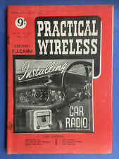 PRACTICAL WIRELESS - Magazine - April 1950 - Recording Sound Effects