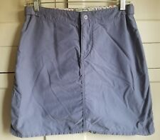 Horny Toad Size 4 Skort Skirt Outdoors Active Hiking Blueberry Purple