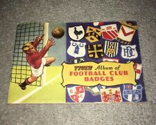 1961 Tiger Album Of FOOTBALL CLUB BADGES - Tiger Comic Free Gift