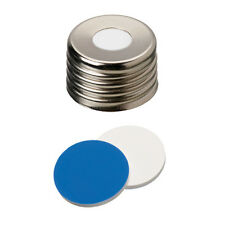 ND18 Magnetic Screw Cap (8mm hole) with Silicone/PTFE Septa 18 03 1414