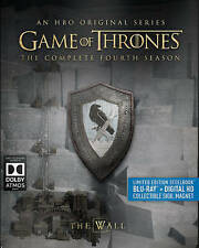 Game of Thrones Season 4 Blu-Ray Steelbook W/Collectible Magnet [Fourth Season]