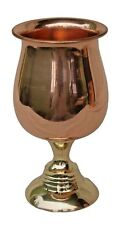 Handmade Pure Copper Wine Goblet, Wine Glass Copper Moscow Mule Mint Julep Cup