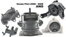 9M1514 5pc Motor Mounts fit 2006 07 2008 Honda Pilot AWD 4x4 Engine Trans Mounts
